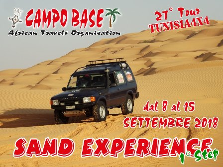 Sand Experience 1° Step